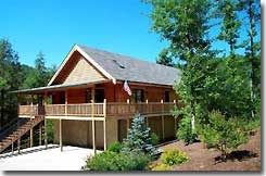 Logacy Lodge vacation rental Gatlinburgh TN