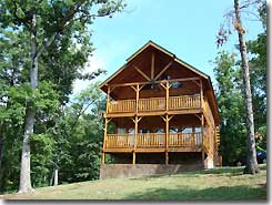 Logemann Log Cabin Pigeon Forge Tennesee Vacation Rental